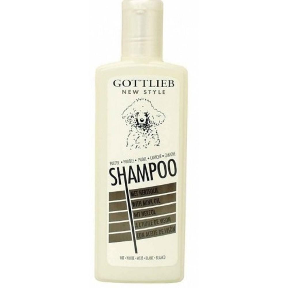Gottlieb šampon pro bílé pudly - 300ml