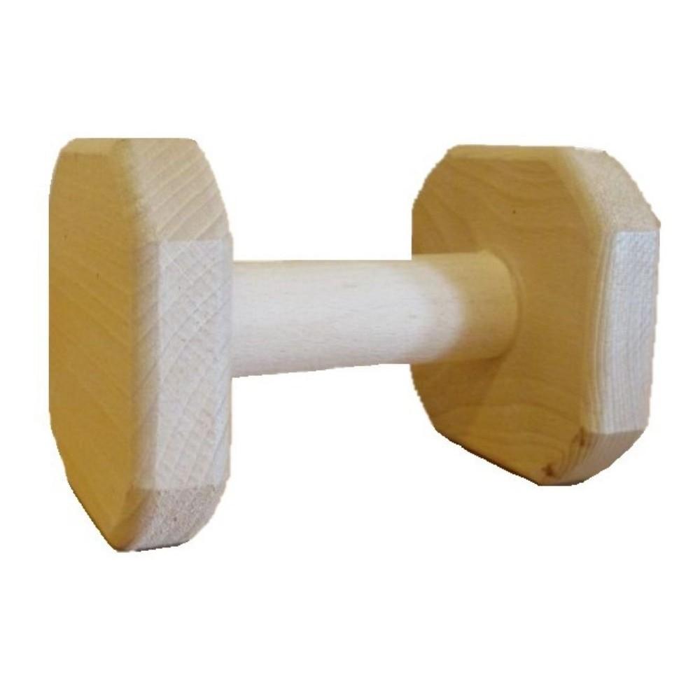 Aport dřevěná činka 1000g
