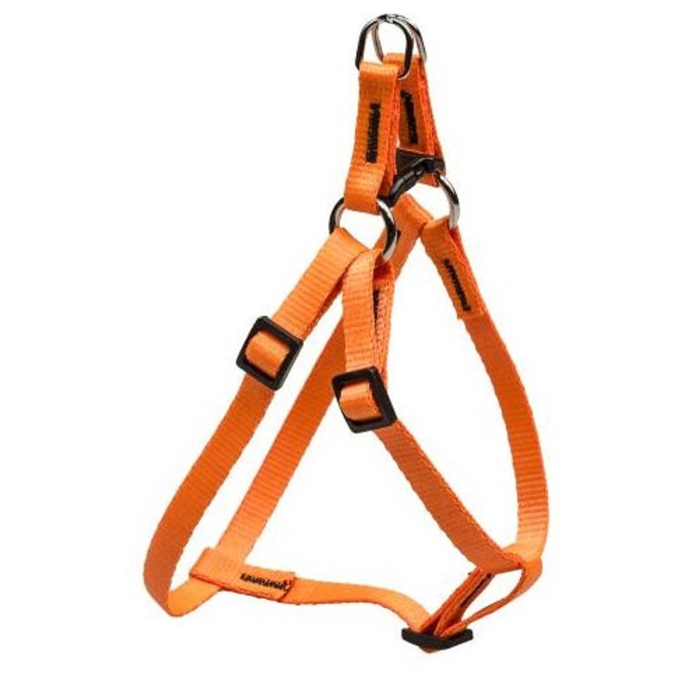 Postroj popruhový - neon oranžový vel.1