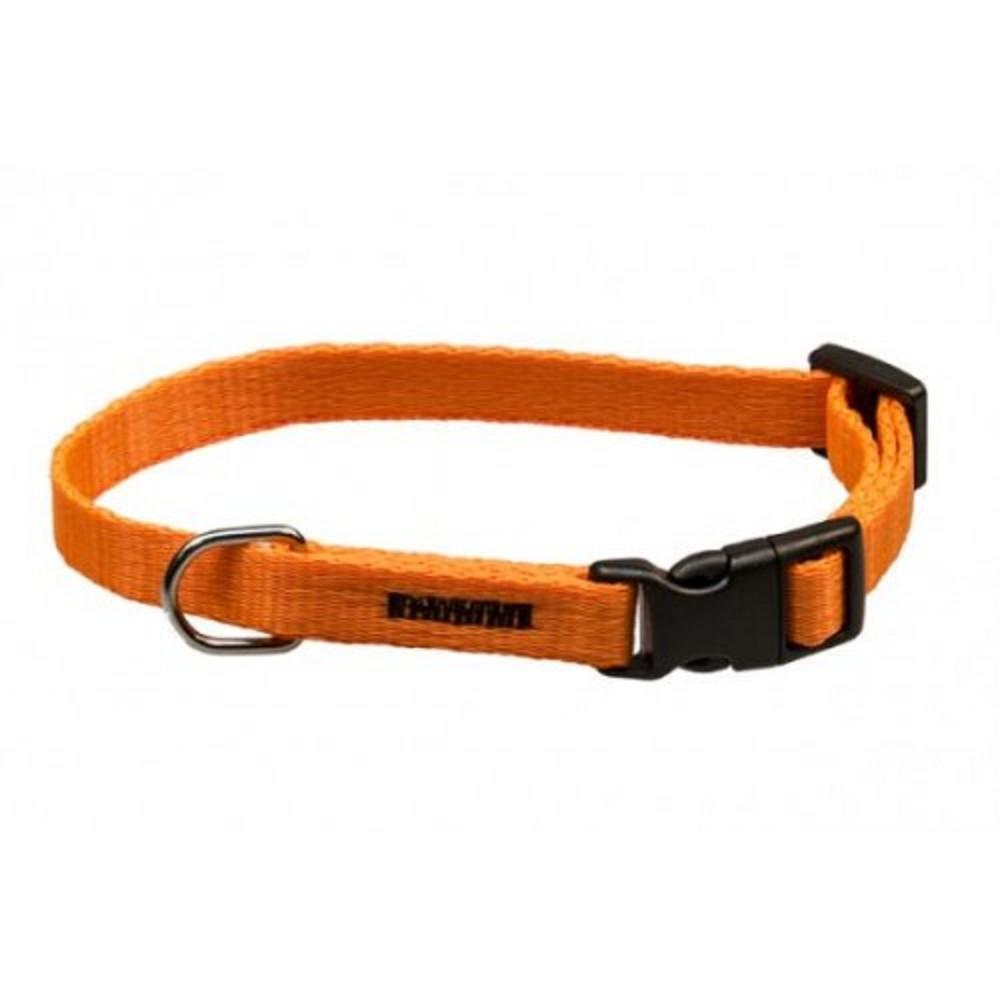 Obojek popruh neon - oranžový 1,5x30-50cm