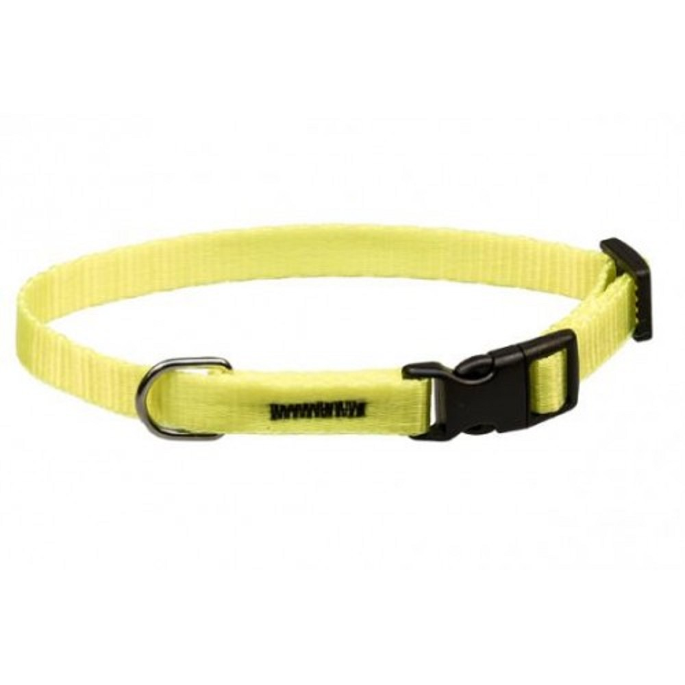 Obojek popruh - neon žlutý 1x18-28cm