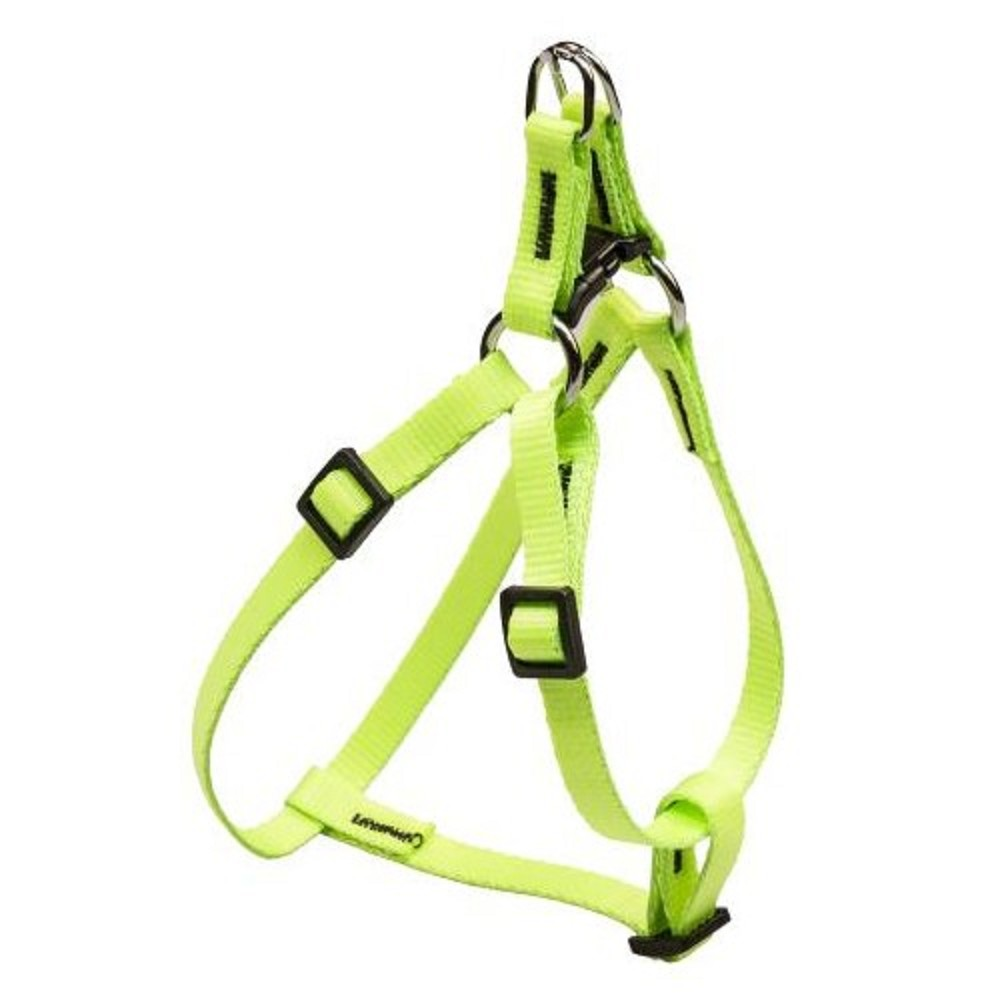 Postroj popruhový - neon zelený vel.1