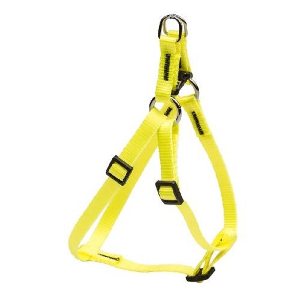 Postroj popruhový - neon žlutý vel.1