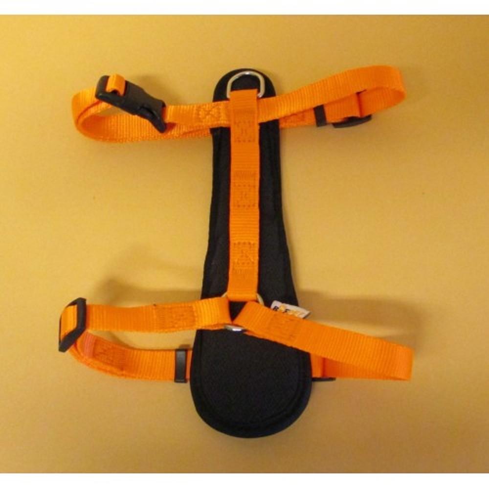 Postroj popruh - neon oranžový vel.2