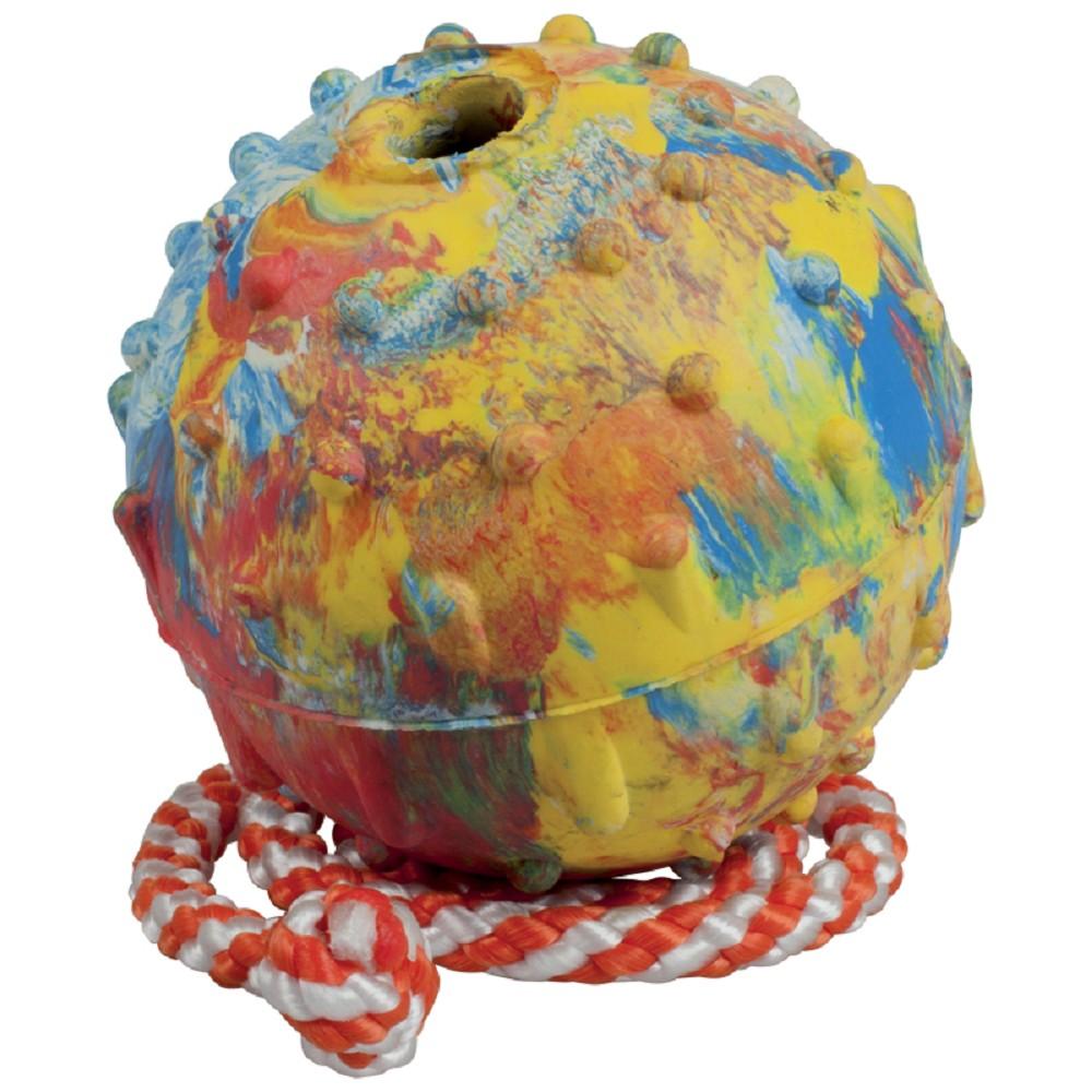 Aport míč s provazem 7cm