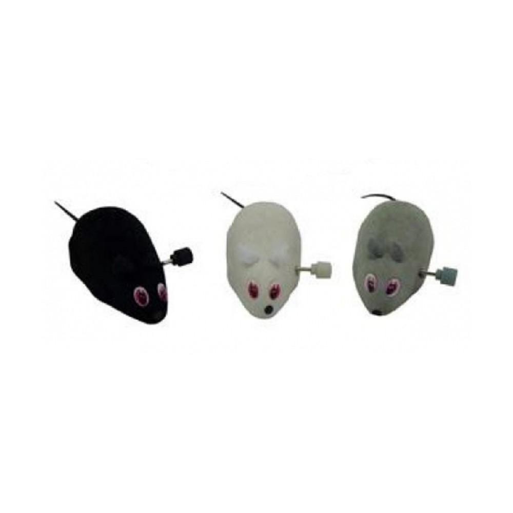 Myš natahovací plyšová 7cm