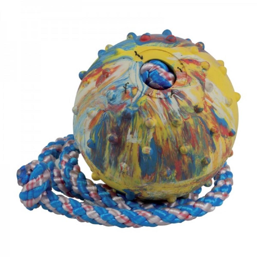 Aport míč s provazem 6cm