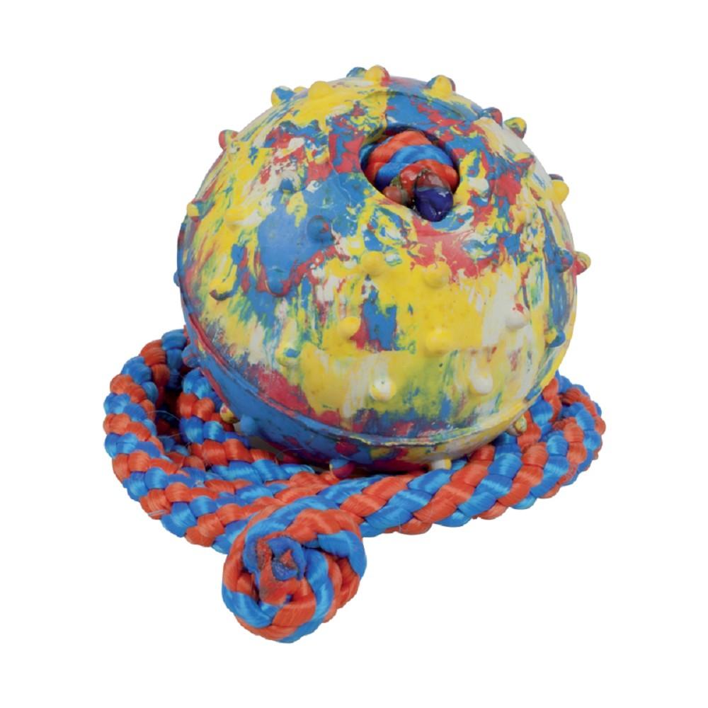 Aport míč s provázkem 5cm