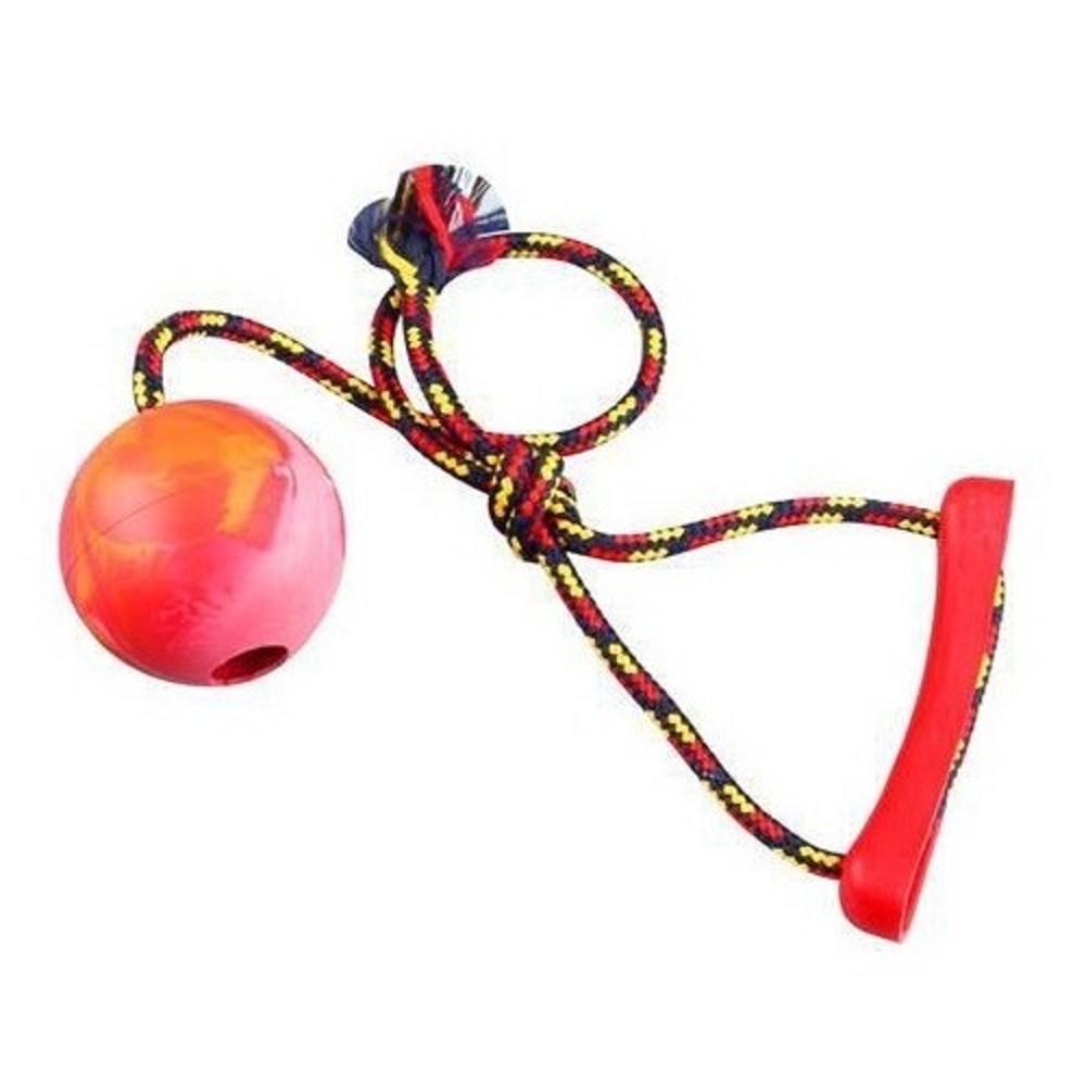 Aport míč s provázkem 8cm