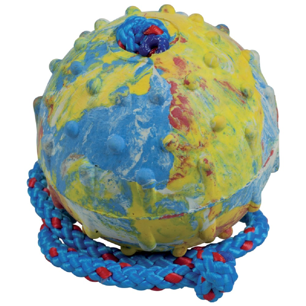 Aport míč s provázkem 7cm
