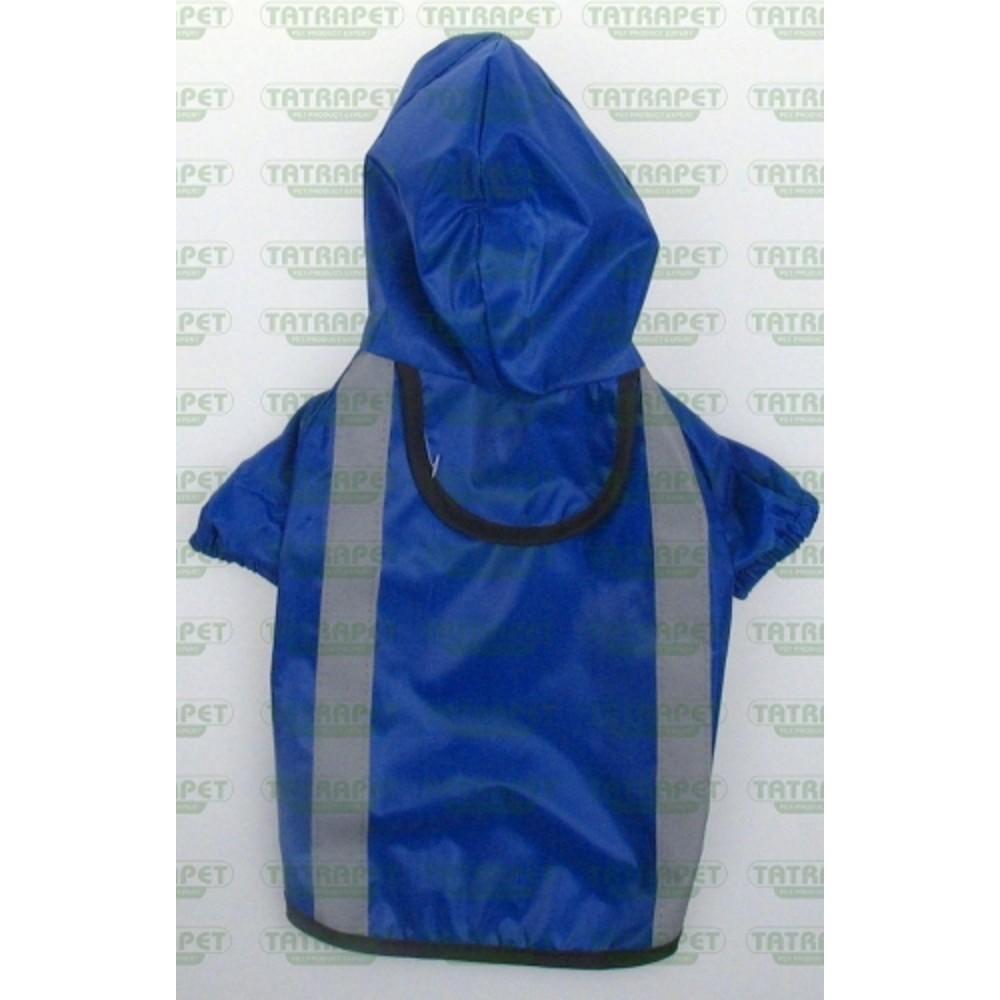 Pláštěnka reflexní modrá  30cm