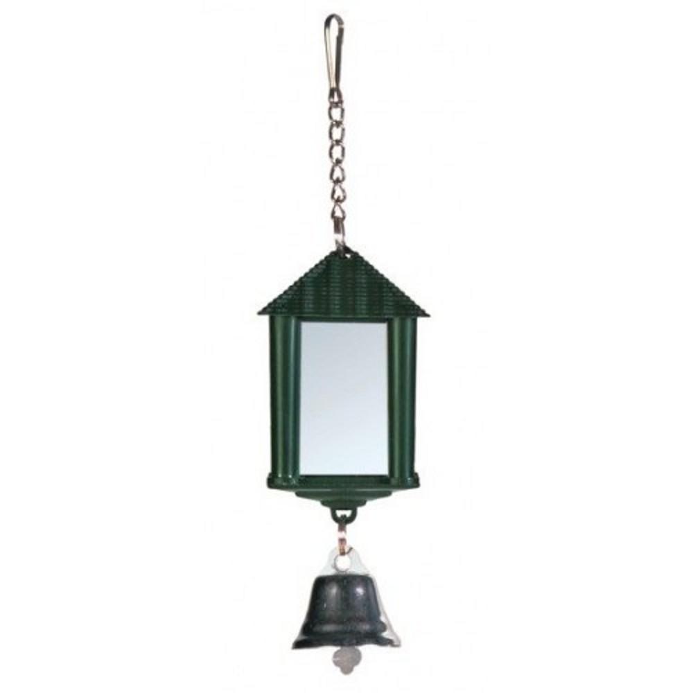 Ptačí lucerna se zrcadlem a zvonečkem