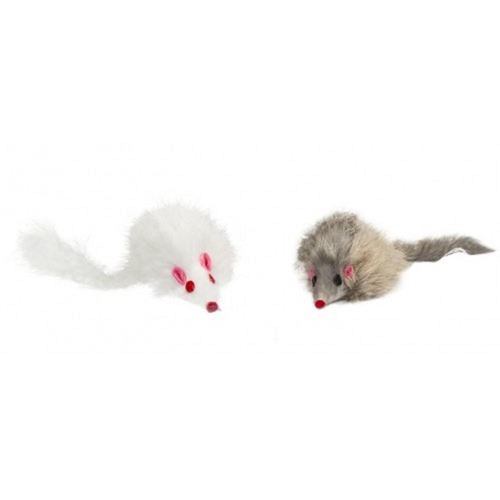 Myš chlupatá 8cm - 2ks/bal.