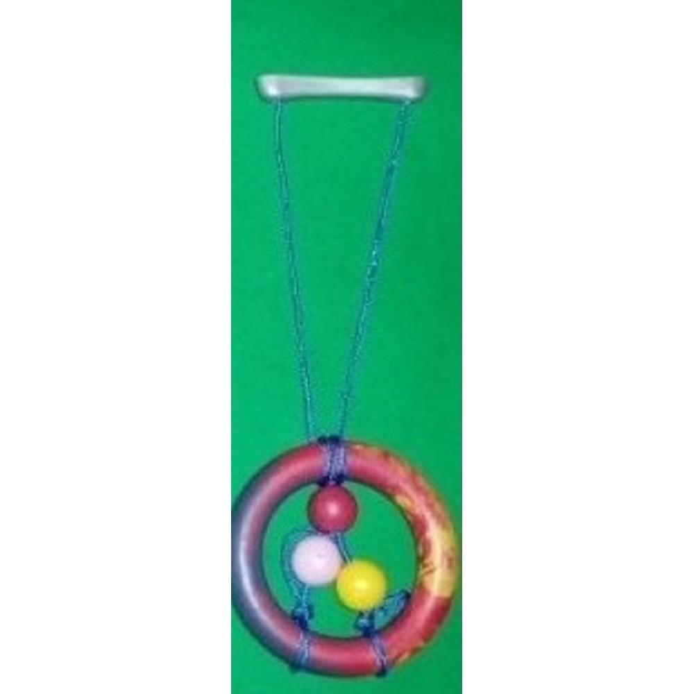 Přetahovadlo kruh se šňůrou 16cm