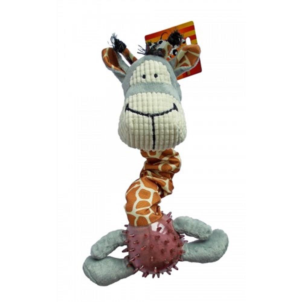 Hračka textil žirafa 39-51cm