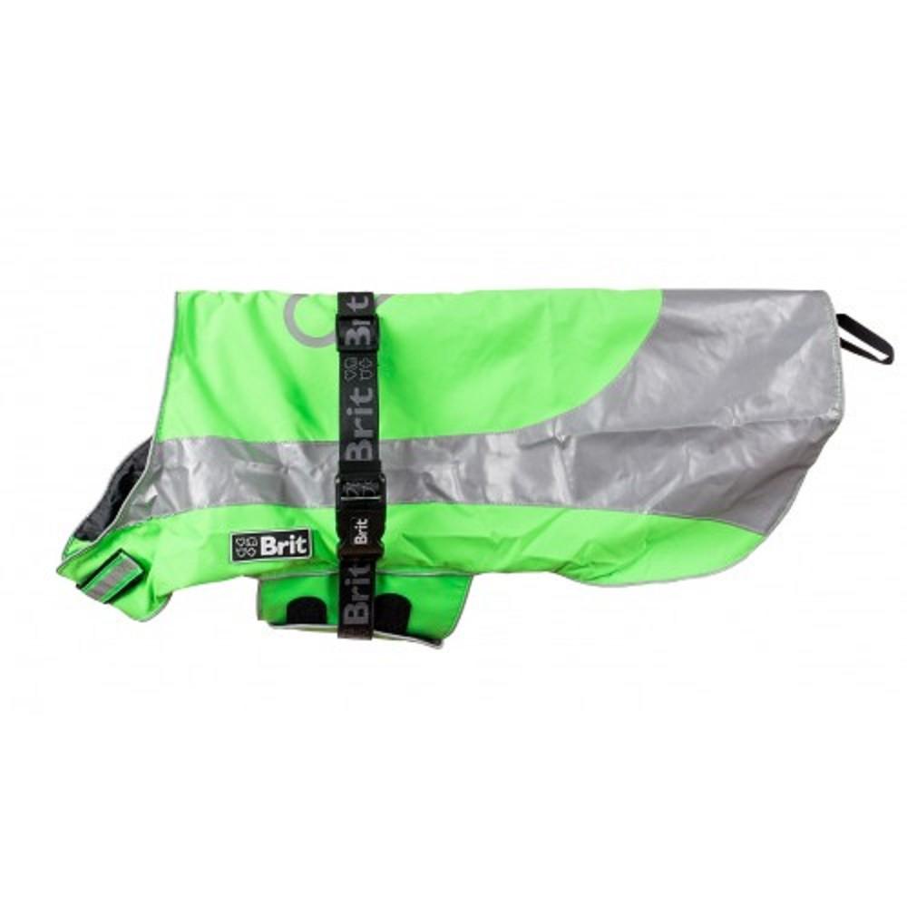 Pláštěnka reflexní zelená  31cm