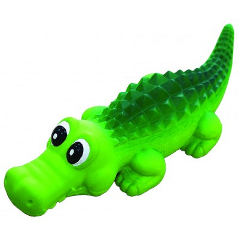 Hračka latex krokodýl 21cm