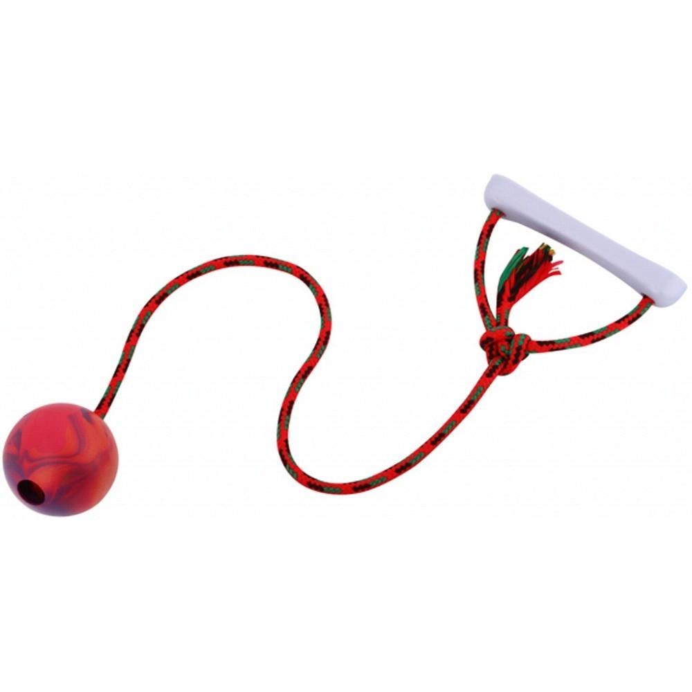 Aport míč s provázkem s vůní 6cm
