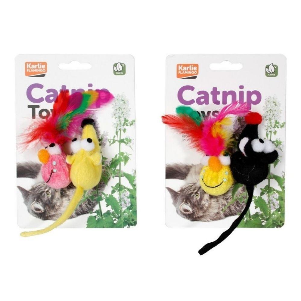 Hračka s catnipem 6cm - 2ks