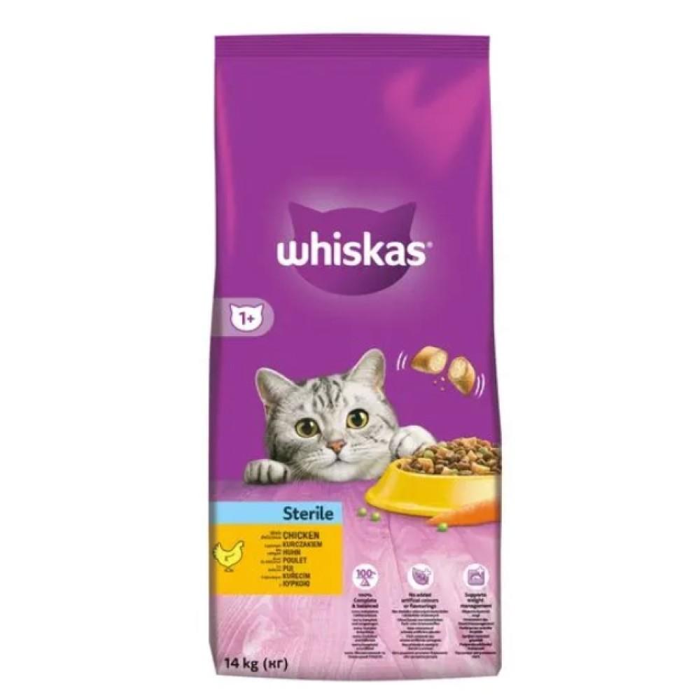 Whiskas pro kastráty 14kg