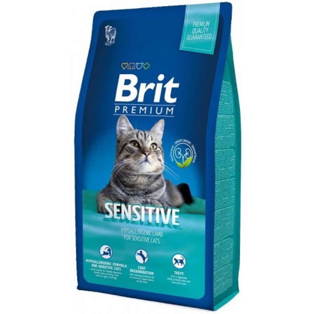 Brit premium sensitive jehněčí s rýží 8kg