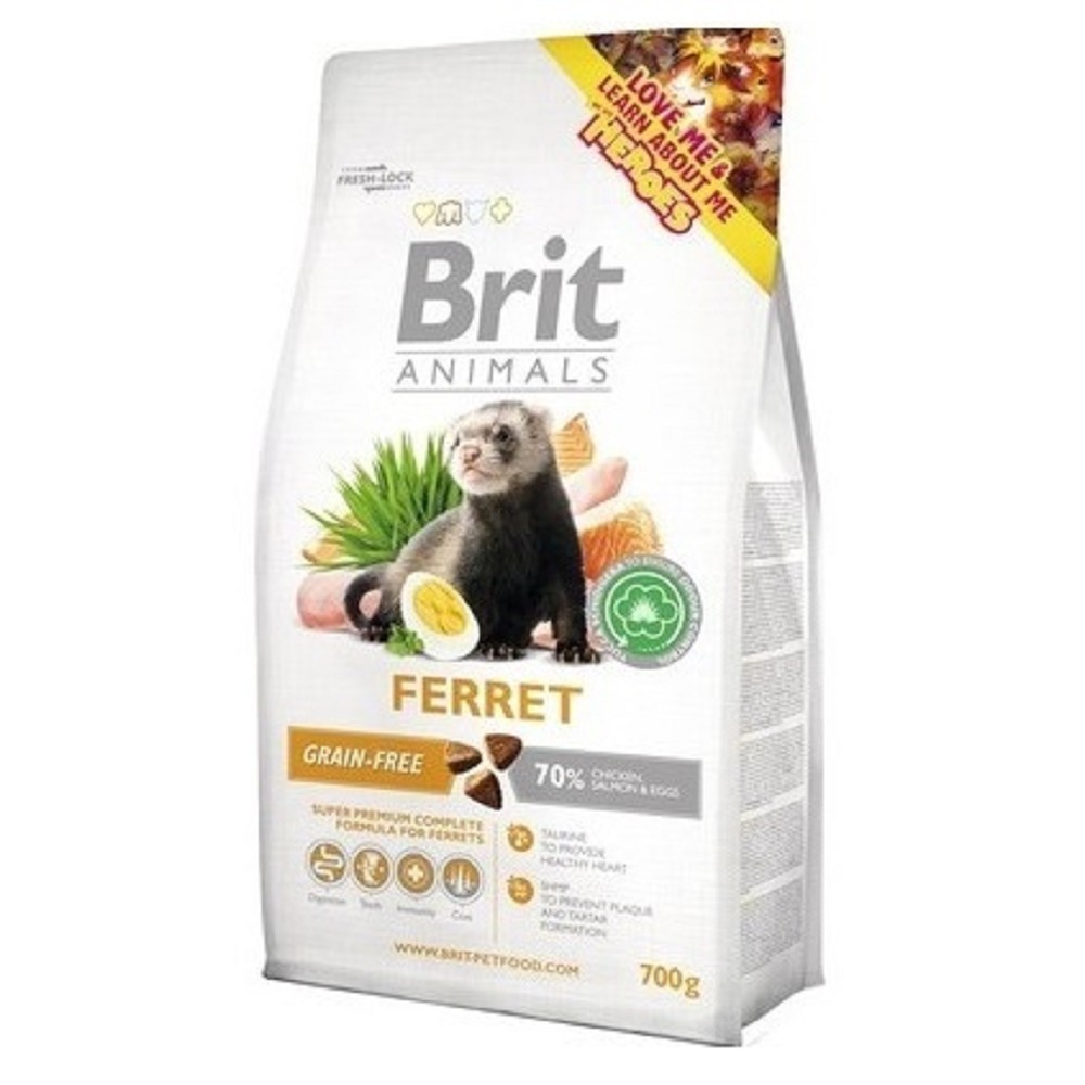 Brit animals fretka complete 700g