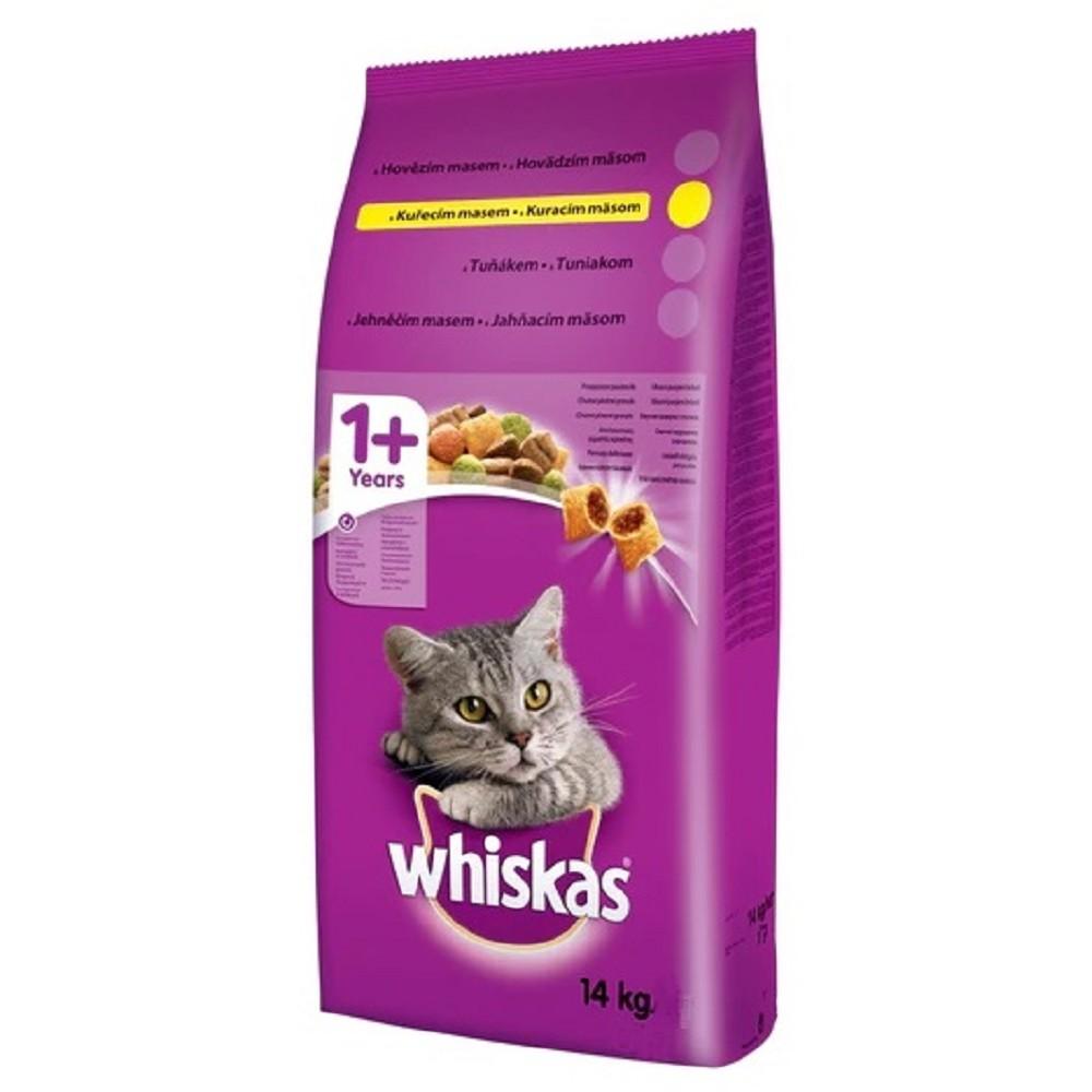 Whiskas drůbež  14kg