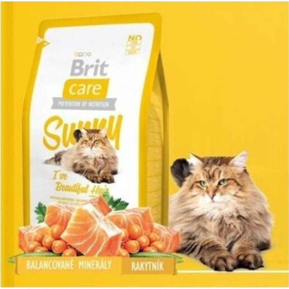 Brit care Sunny Hair losos 400g