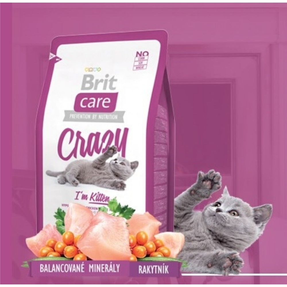 Brit care Crazy Kitten 400g