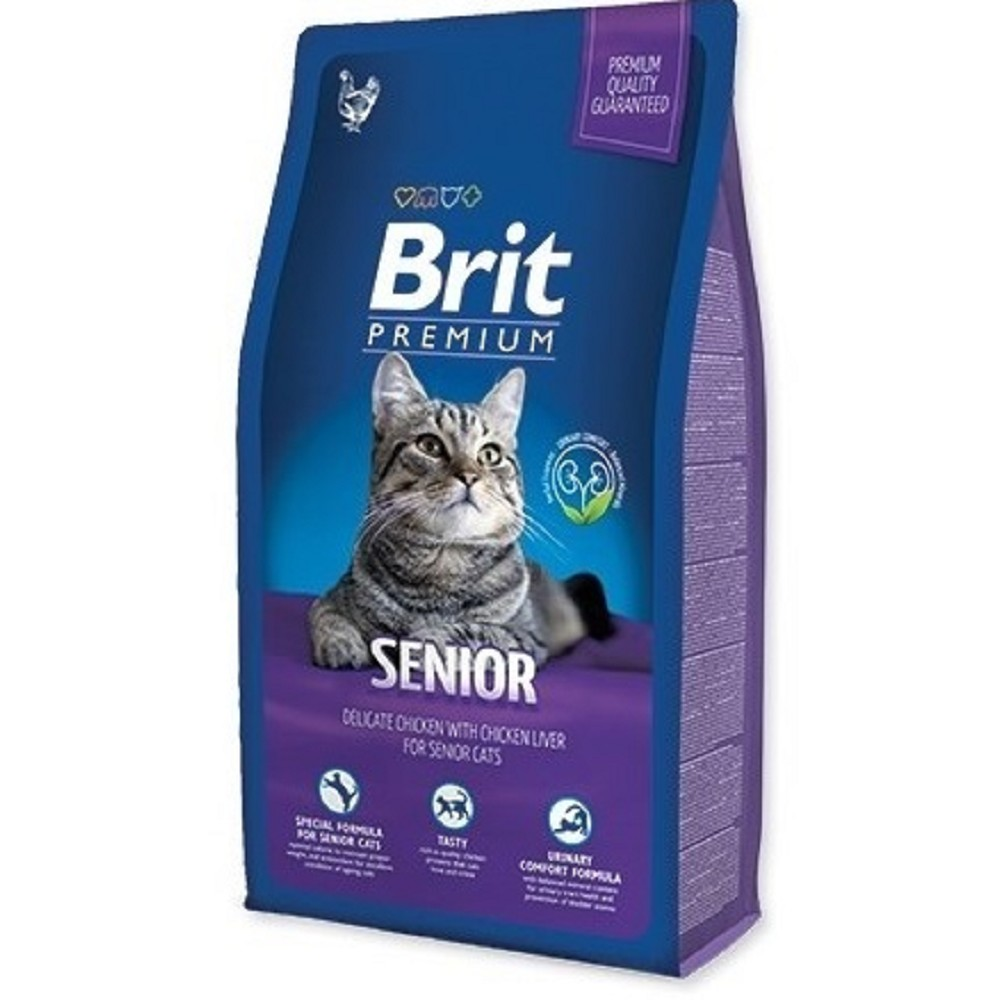 Brit premium senior kuřecí 8kg