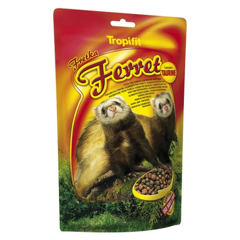 Tropifit Ferret - krmivo pro fretky s taurinem 400g