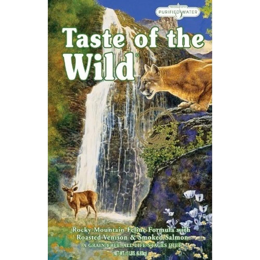 Taste of the Wild zvěřina s lososem  6,6kg