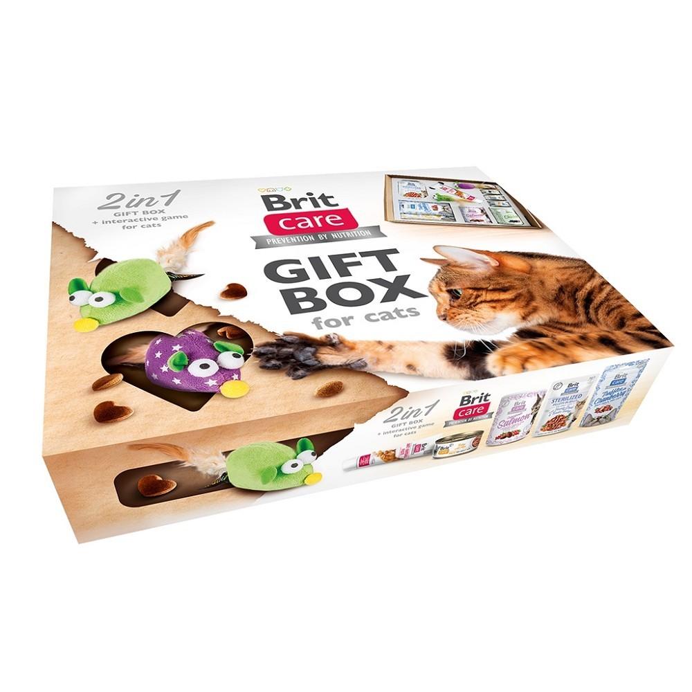 Brit Care Cat Gift box - chybí 1 hračka