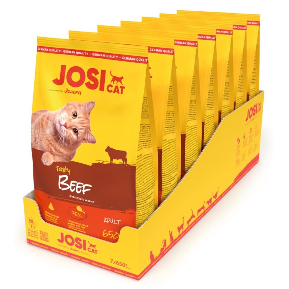 JosiCat  Tasty Beef  7x650g