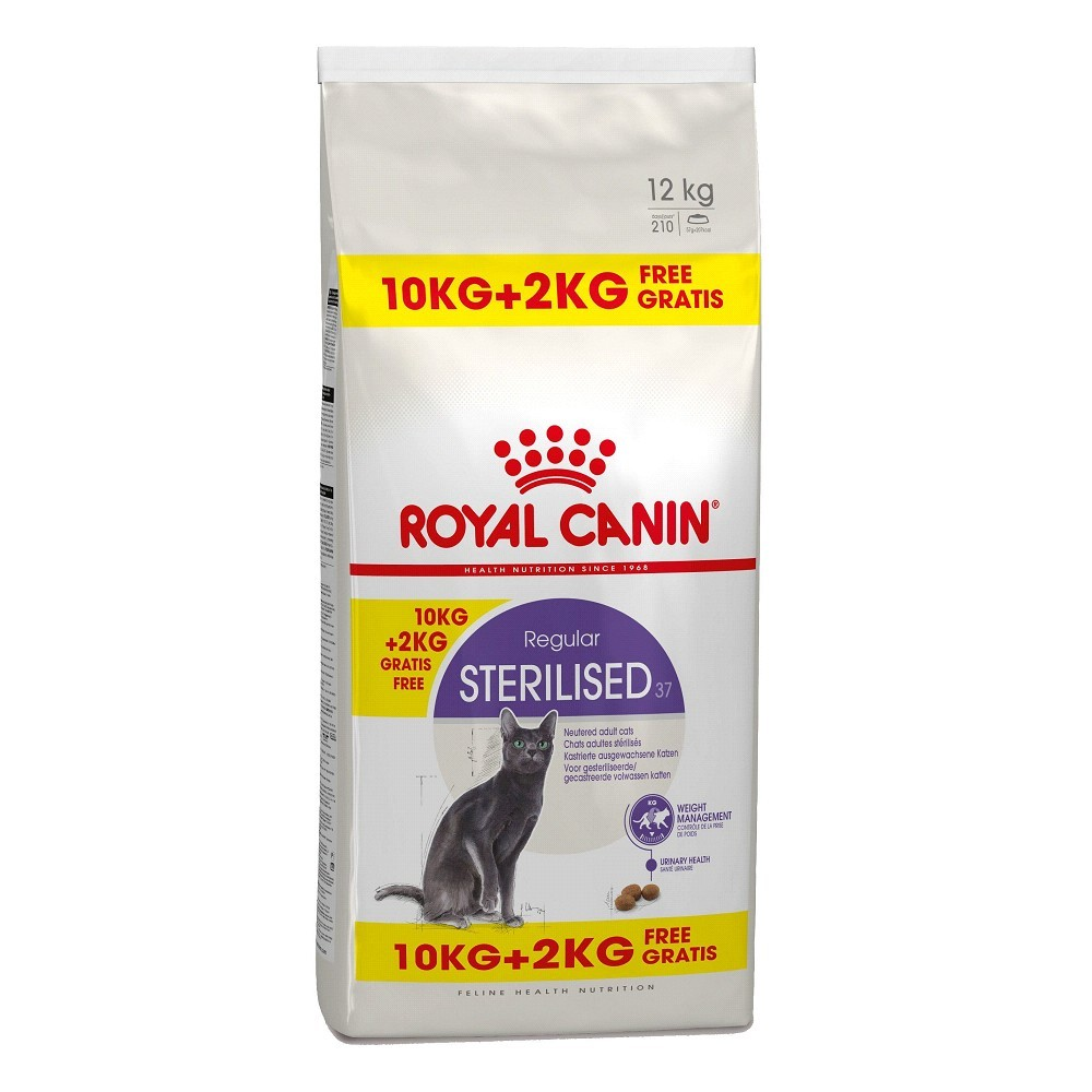 RC  Sterilised cat 10+2 kg