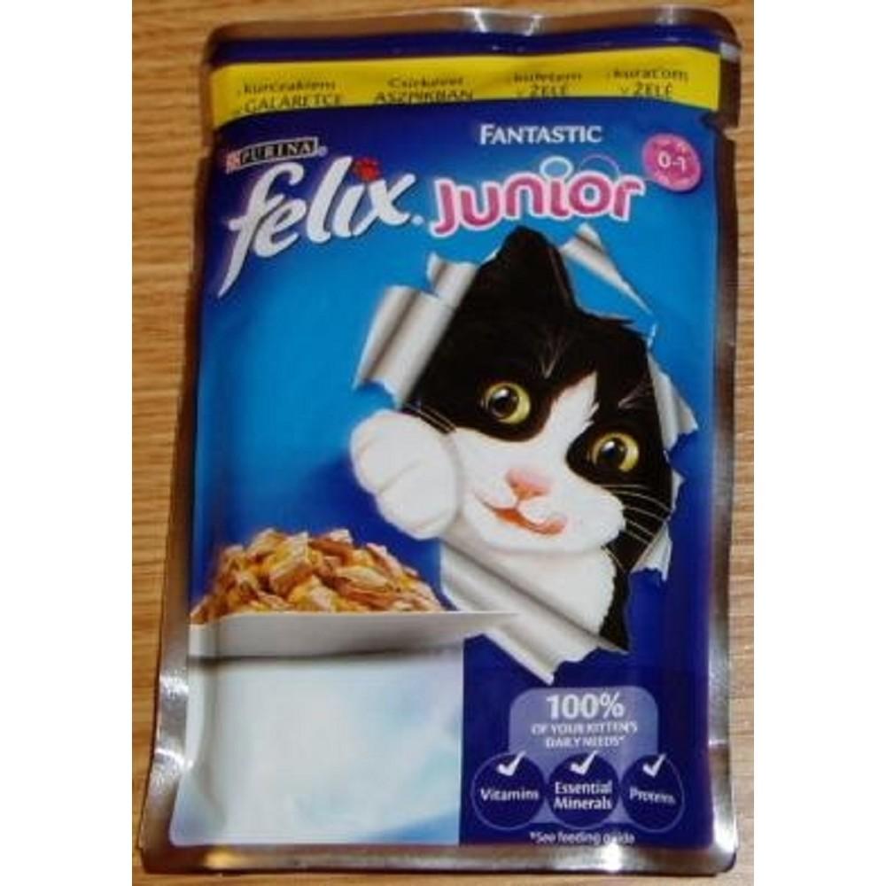 Felix kuřecí pro koťata 100g