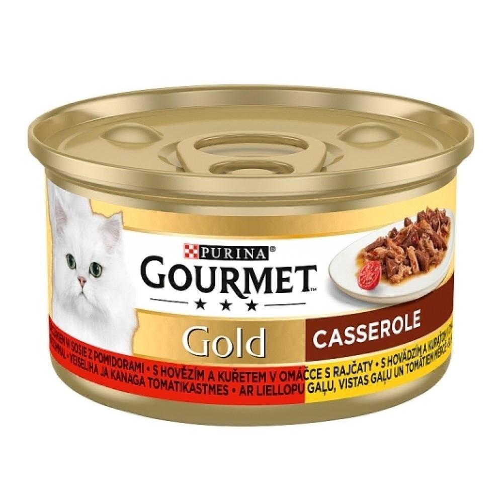 Gourmet gold hovězí s kuřetem 85g