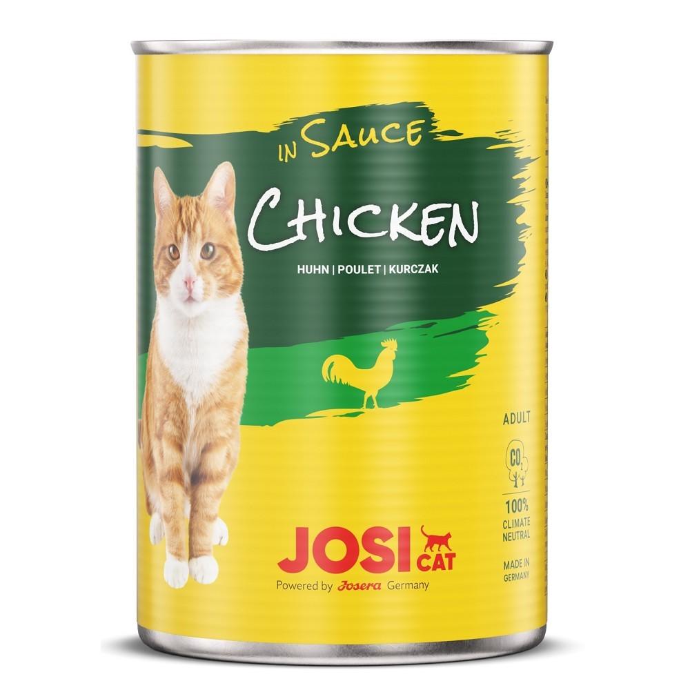 JosiCat kuřecí ve vlastní šťávě 415g