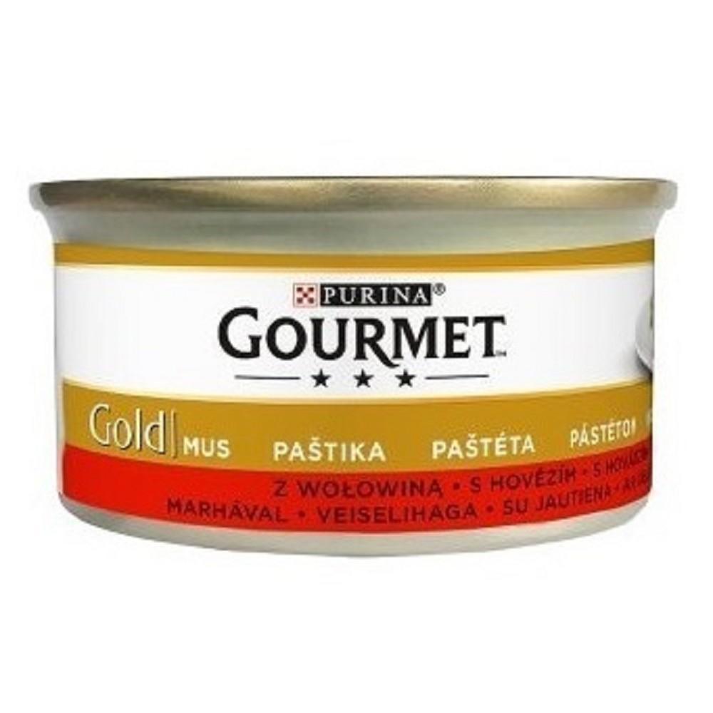 Gourmet gold paštika hovězí  85g