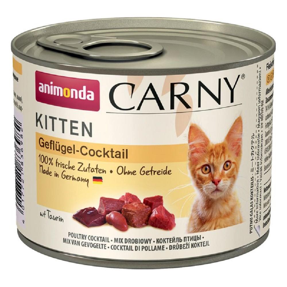 Animonda Carny drůbeží koktejl pro kotě 200g