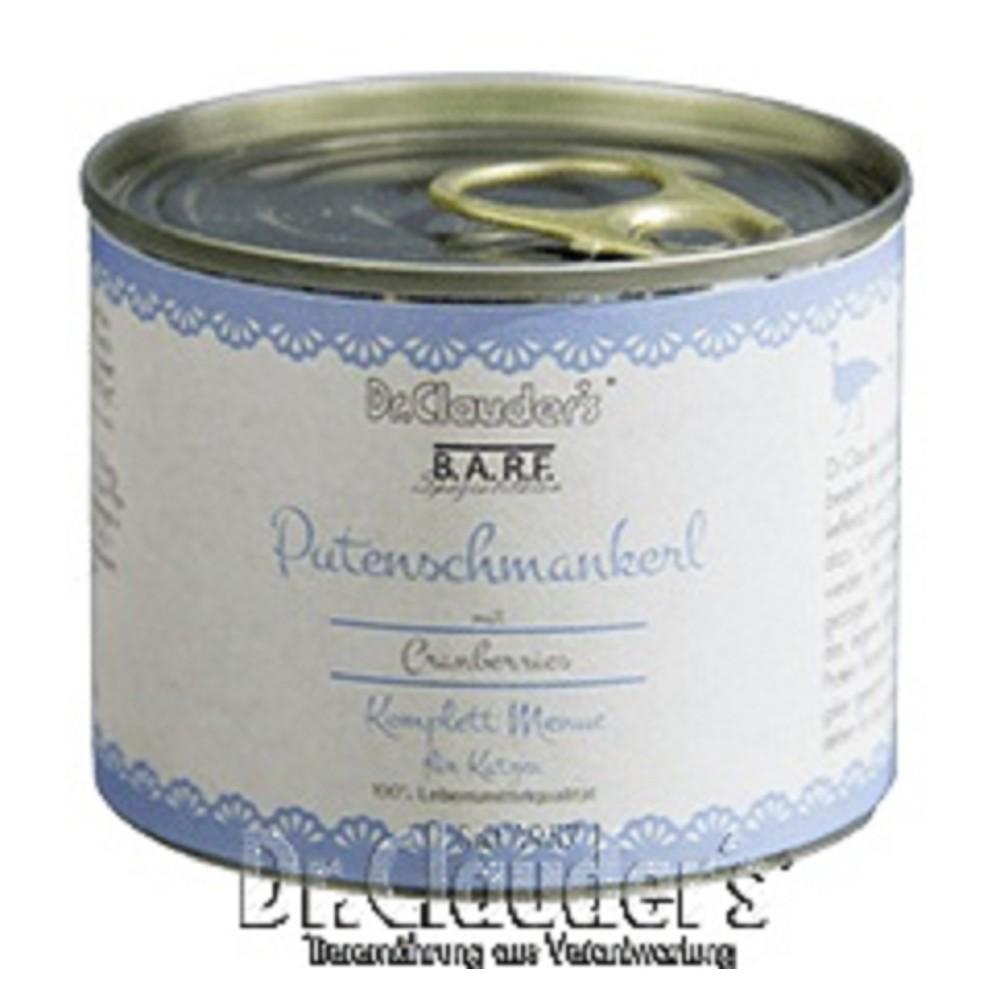 Dr.Clauders BARF - Komplettmenue Putenschmankerl 200g