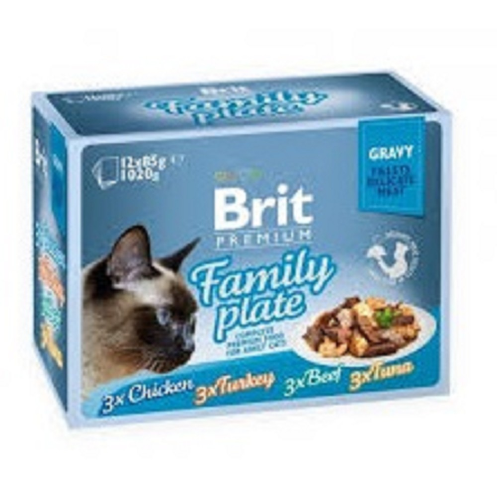 Brit premium filety v vlastní šťávě 12x85g