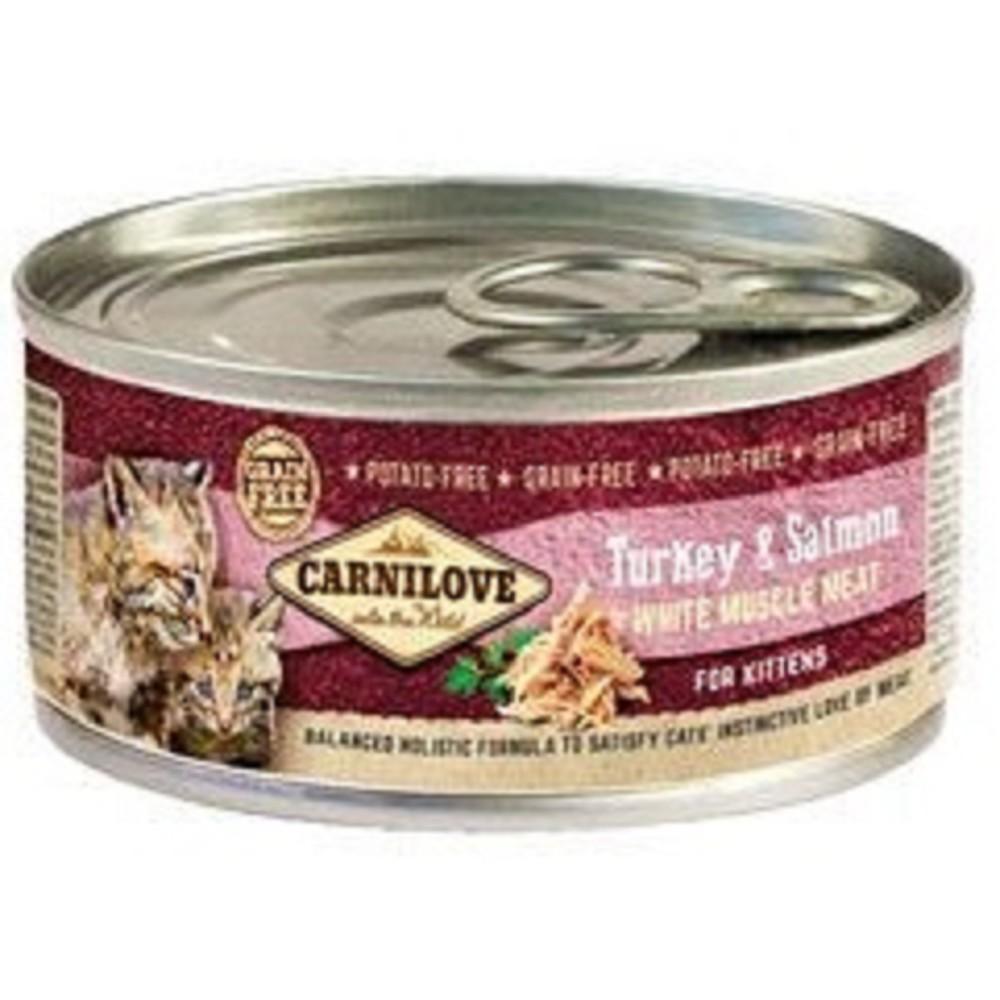 Carnilove krůta s lososem pro koťata 100g