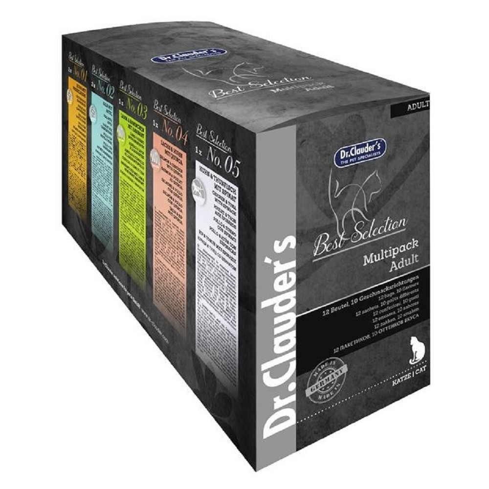 Dr.Clauders Multipack Adult 12x85g