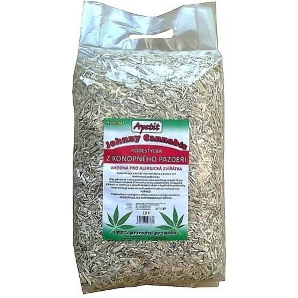 Podestýlka z konopí Johnny Cannabis 10l