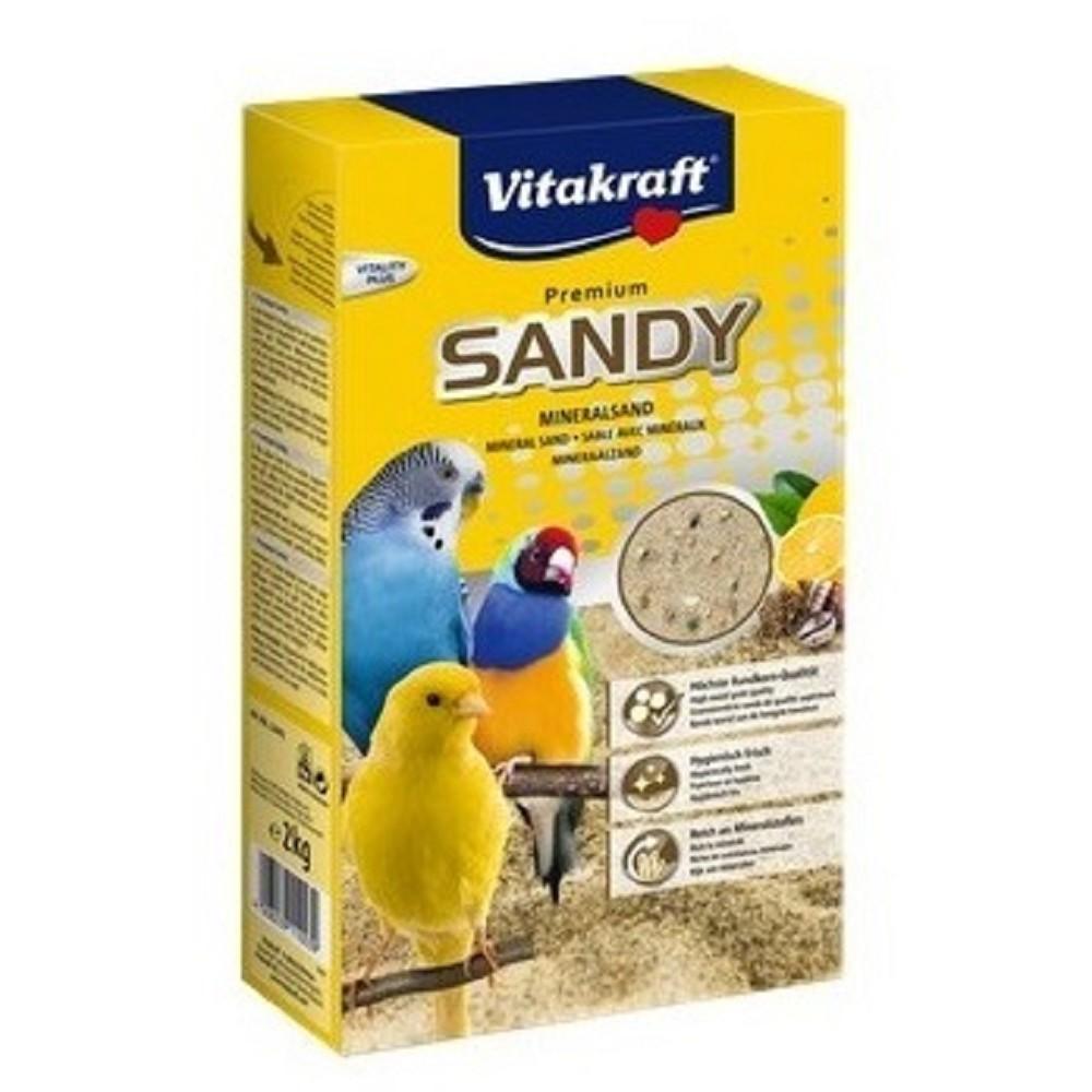 Písek Sandy  pro malé papoušky 2kg