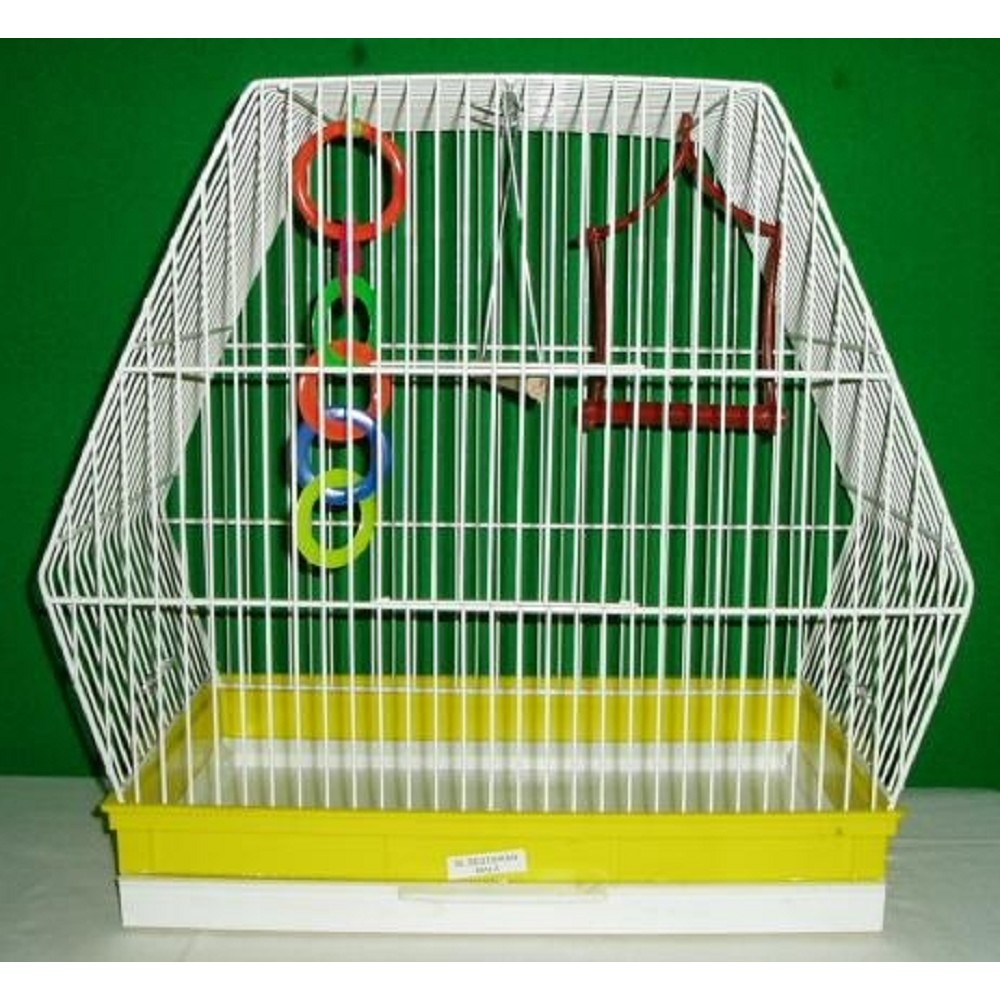 Klec ptačí - šestihranná 37,5x23,5x41cm