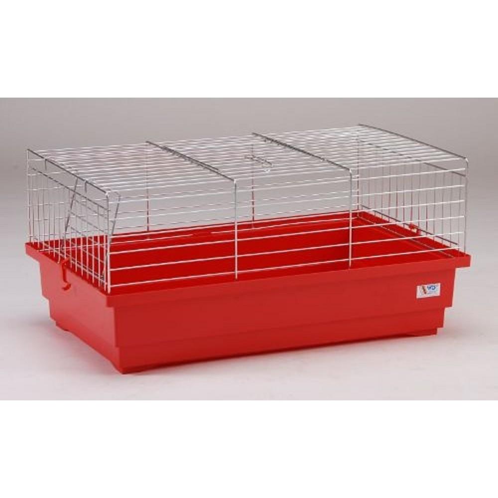 Klec pro králíka - pozink 60x35,5x35,5cm
