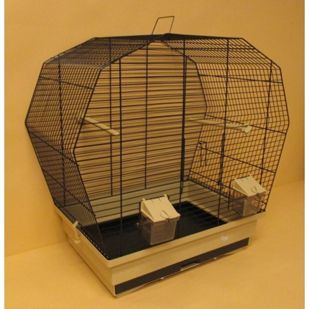Klec pro papoušky - šestihran 57,5x33,5x55cm