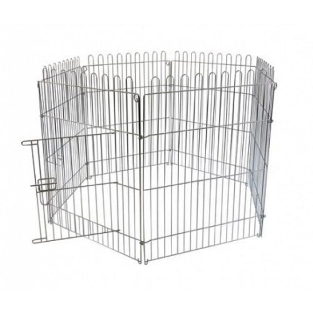 Ohrádka pro štěňata z 6 dílů  60x80cm